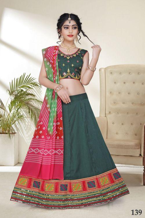 Aaradhna 8 Kidswear Navratri Lehenga Collection