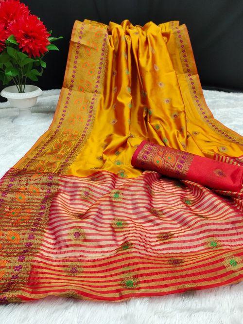 Maahi 37 Party Wear Banarasi Silk Saree