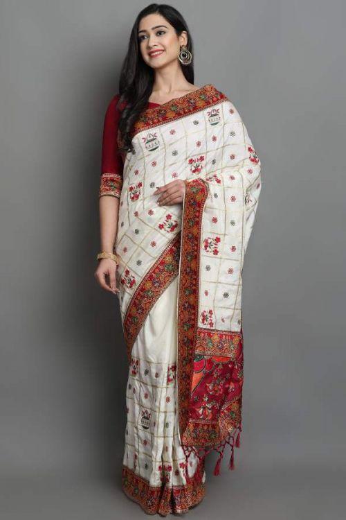 Sakhiya Keshvi Exclusive Wedding Wear Saree Collection