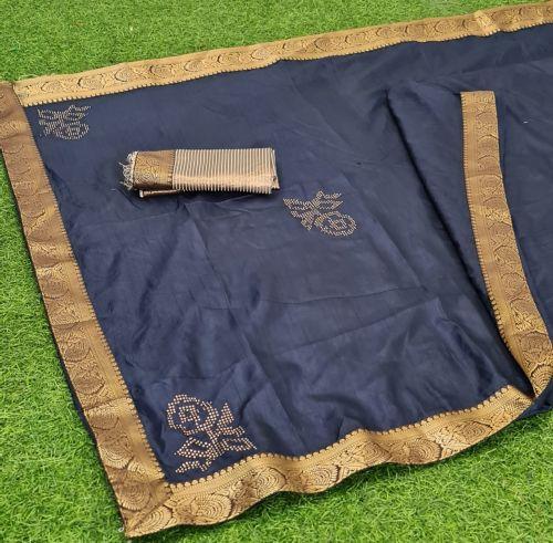 Mahek 46 Party Wear Dola Designer Banarasi Silk Saree