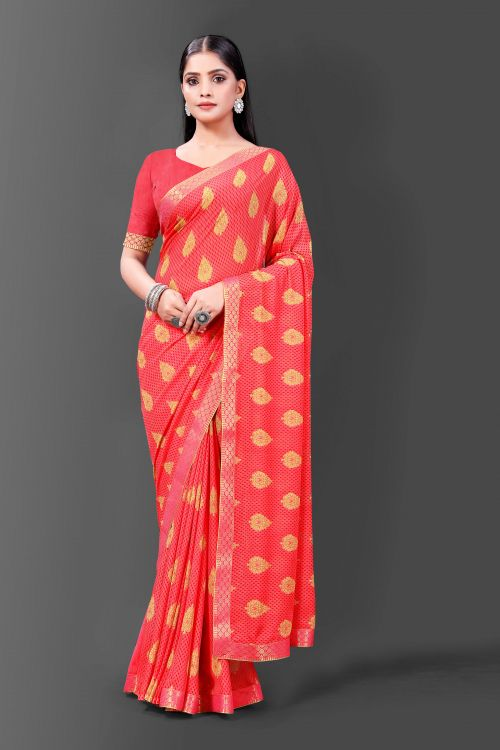 Suhani 715 Casual Wear Georgette Printed Saree Collection