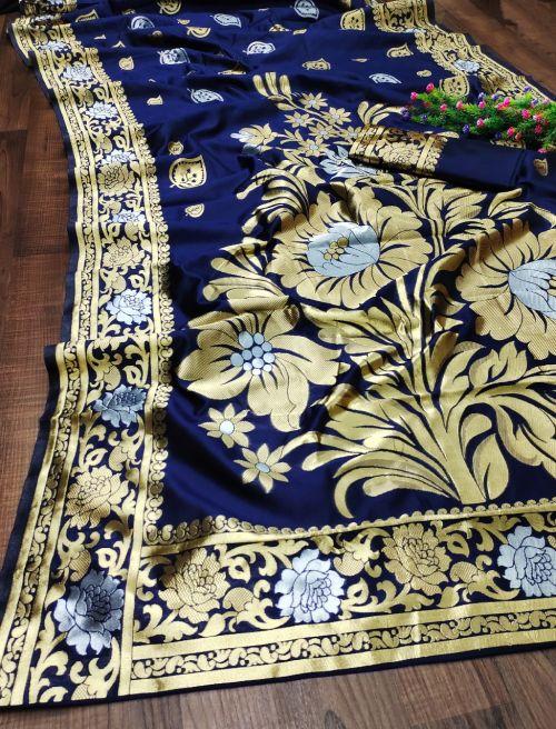 Maahi 39 Party Wear Banarasi Silk Saree Collection