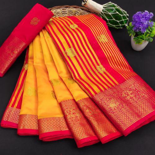 Meera 35 Party Wear Banarasi Silk Saree Collection