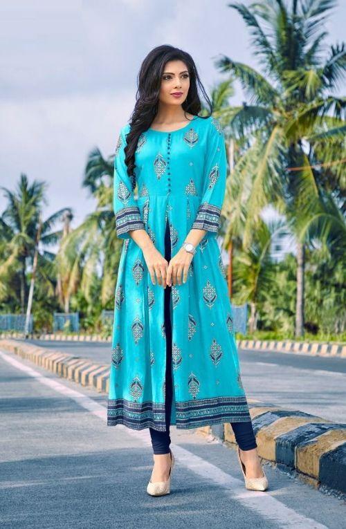 Poonam Akshara Ethnic Wear Designer Kurti Collection