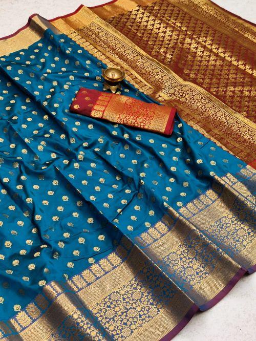 Meera 37 Party Wear Banarasi Silk Saree Collection