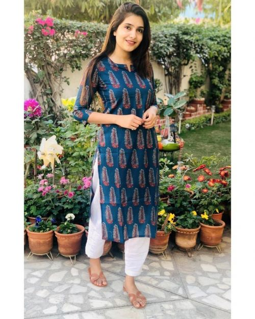 Rosey 6 Fancy Wear Kurti With Bottom Collection