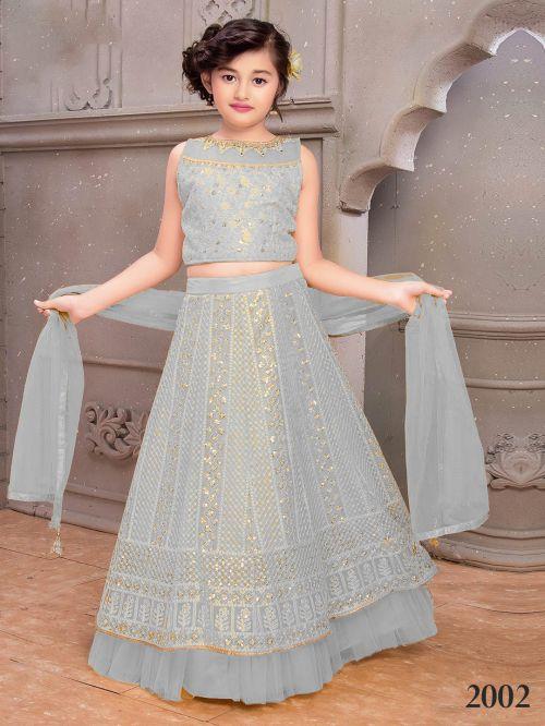Nandita Wedding Wear Kids Lehenga Collection