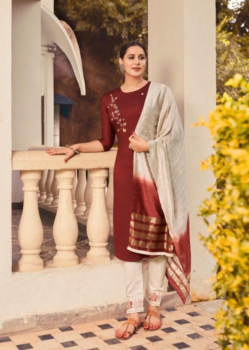 Kajree Zibo Festive Wear Parampara Silk Ready Made Collection