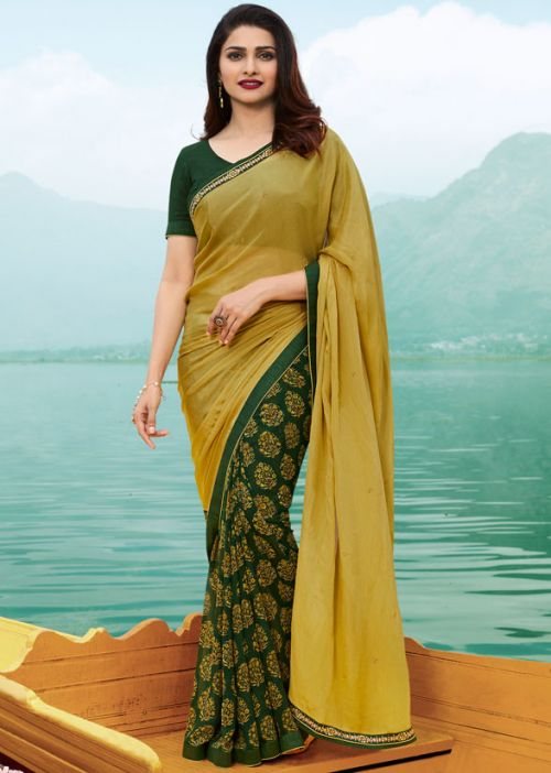 S A29 Casual Wear Georgette Printed Saree Collection