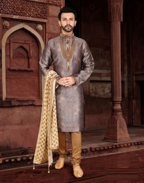 Outlook 36 Festive Wear Silk Kurta Pajama Mens Wear Collection
