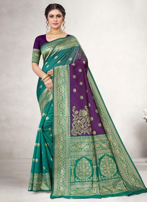 Lakshya Vidya 18 Exclusive Wear Jacquard Silk Saree Collection