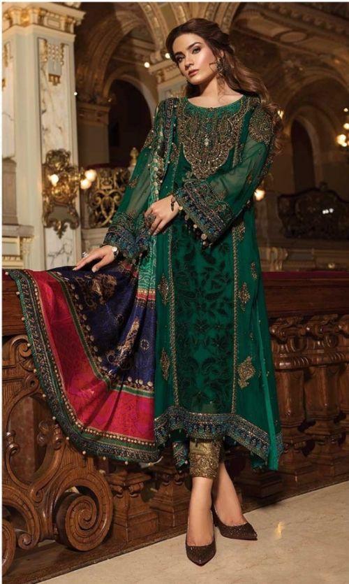 Asim Jofa 56049 Georgette Wear Pakistani Salwar Kameez