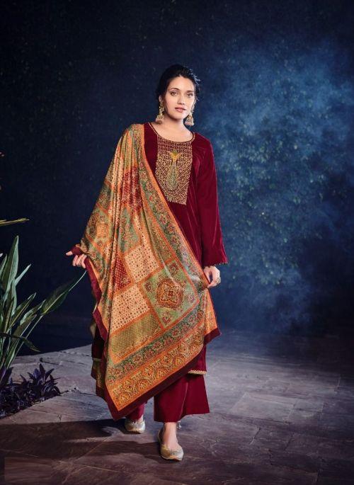 Deepsy Gulnar Winter Wear Velvet Designer Pashmina Collection