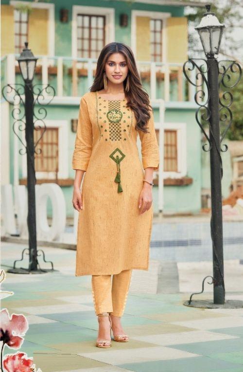 Panghat Nx Perry Fancy Wear Cotton Designer Kurti Collection