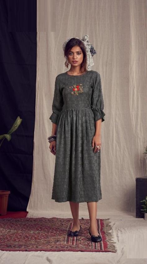 Riya Alexa Weaving Work Pashmina Designer Kurti Collection