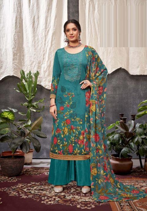 Harshit Aabru Digital Printed Designer Dress Material