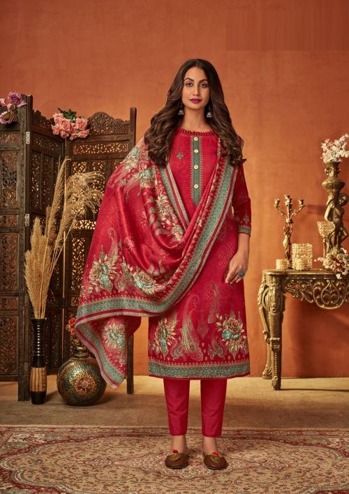 Roli Moli Kimora Winter Collection Exclusive Wear Pashmina Dress Material