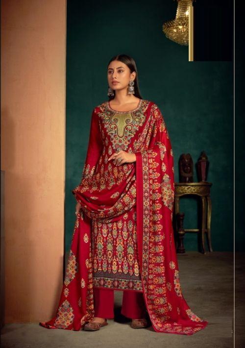 Levisha Femina 11 Exclusive Wear Designer Pashmina Dress Material