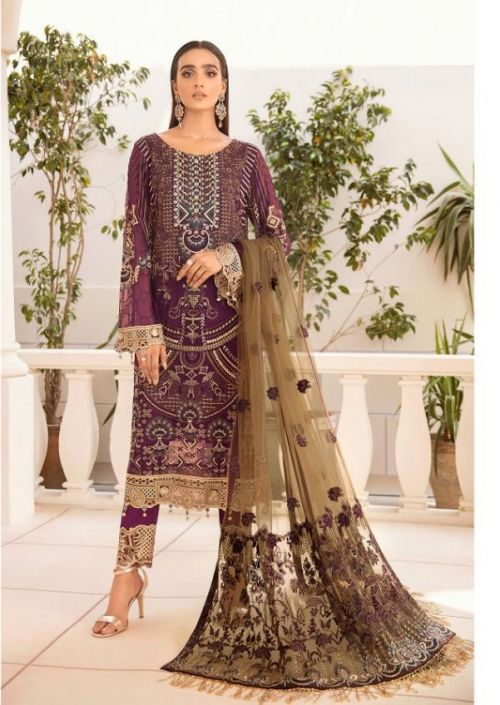 Noor Ramsha 5 Georgette Wear Pakistani Salwar Kameez