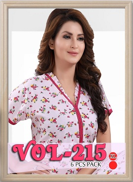 Nighty 215 Printed Western Nightsuits Collection