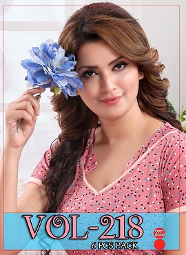 Nighty 218 Printed Western Nightsuits Collection