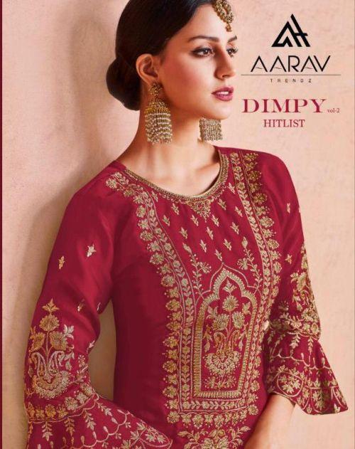 Aarav Dimpy 2 Designer Heavy Georgette Salwar Suits