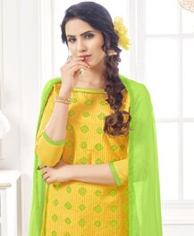 Anamika Designer Cotton Dress Material Collection