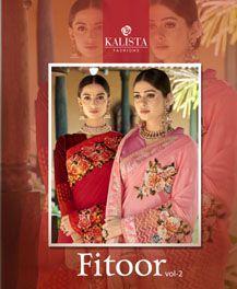 Kalista Fitoor 2 Designer Wedding Saree Collection