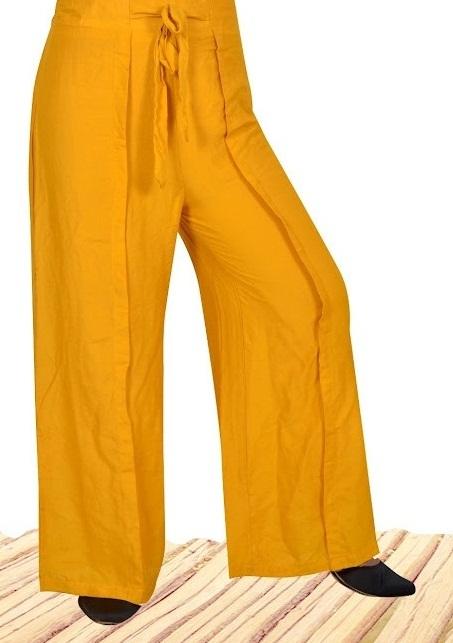 Kavyansika Rayon Belt Plazzo Pants Collection