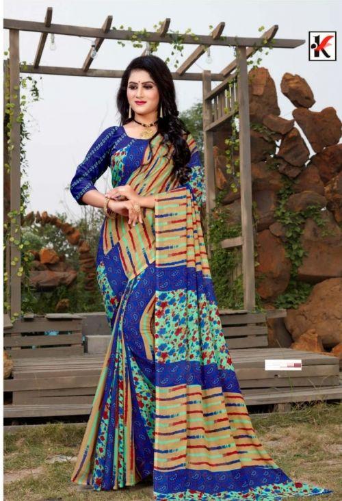 Jackpot 92 Renial Casual Wear Printed Saree Collection