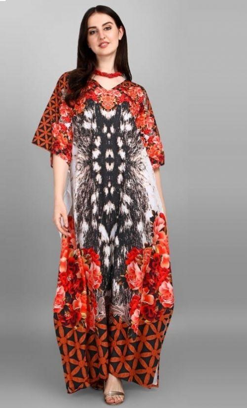 Jelite Alfreen 3 Polyester Fancy Wear Kaftans Collection