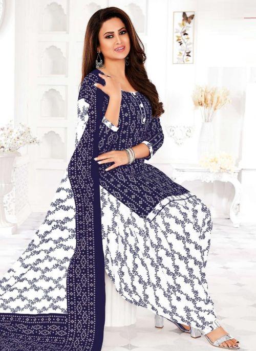 Ganpati Bandhani 1 Printed Cotton Dress Material